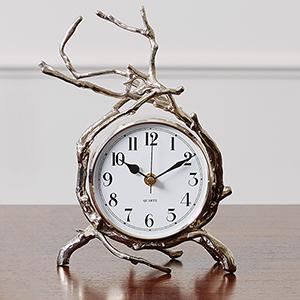 Nickel Twig Clock