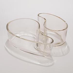 Couplet Citrine Short Vase