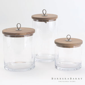 Rustic Small Canister