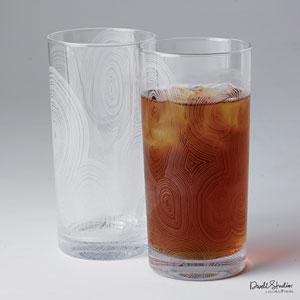 Malachite Tall Drinking Glass