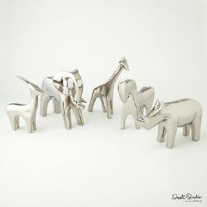 Bright Silver Antelope