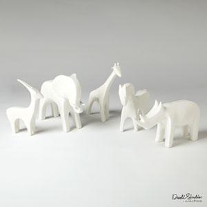 Matte White Elephant
