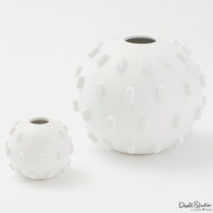 Thielo Matte White Large Vase