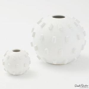 Thielo Matte White Small Vase