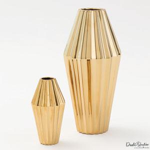 Milos Gold Small Vase