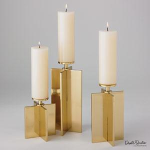 Axis Brass Small Candleholder