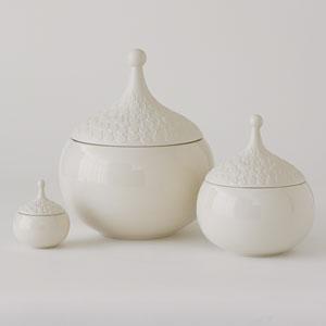 Teardrop Chalk Small Vase