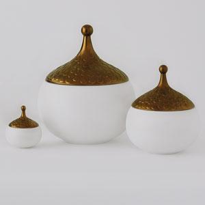 Teardrop Gilded Large Vase