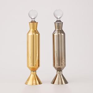 Henrietta Metallic Gold Decanter