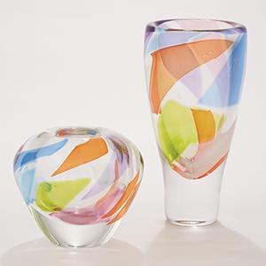 Rainbow Large Vase