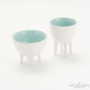 Turquoise Tall Bowl with Soul
