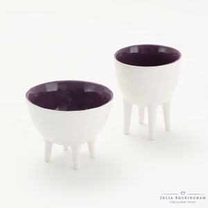Purple Tall Bowl with Soul