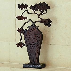 Studio A Ming Bronze Bonsai Sculpture
