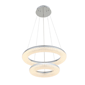 Orbit Chrome LED Chandelier