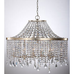 Palais Silver Foil 36-Inch Ten-Light Pendant