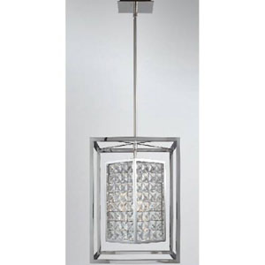 Struttura  Stainless Steel 14-Inch Three-Light Pendant