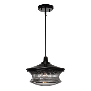 Magister Dark Bronze 1-Light Pendant