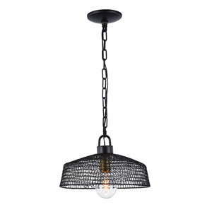 Urban Dark Bronze 1-Light Pendant