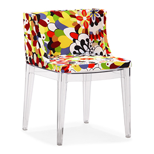 Pizzaro Multicolored Side Chair