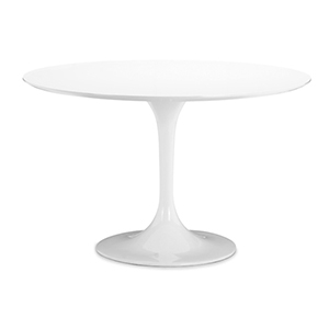 Wilco White and Fiberglass Dining Table