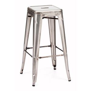 Marius Stainless Steel Bar Chair