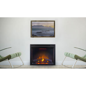 Ascent 33 In. Electric Fireplace