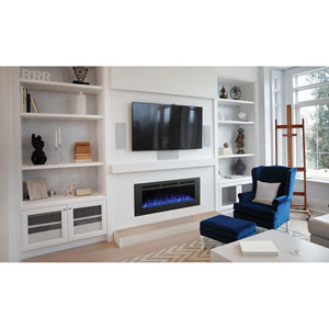 Allure Phantom 50 In. Electric Fireplace