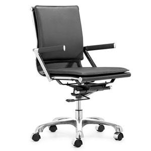 Lider Plus Black Office Chair