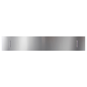 Fireplace Stainless Steel Cover 88-Inch Slim or Deep Electric Fireplace