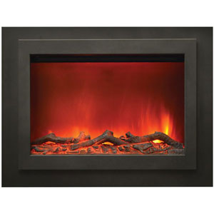 Zero Clearance 45 In. Electric Fireplace with Heater and Fan