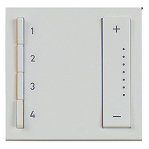 White Soft Tap Wi-Fi Lighting System Wall Scene Controller