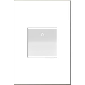 White Half-Size Paddle Switch