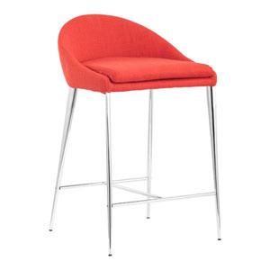 Reykjavik Counter Chair Tangerine (Set of 2)