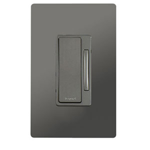Nickel In-Wall, 2-Wire Incandescent Dimmer