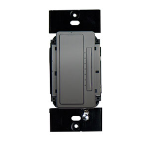 Nickel In-Wall 3-Way RF Dimmer