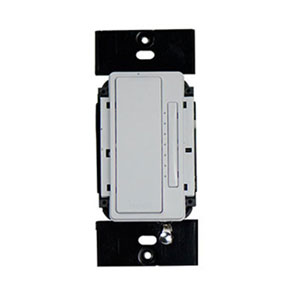 White In-Wall 3-Way RF Dimmer
