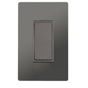 Nickel In-Wall 1500W RF Switch