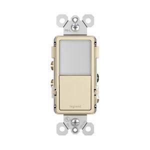 Light Almond Night Light with Single-Pole 3-Way Switch