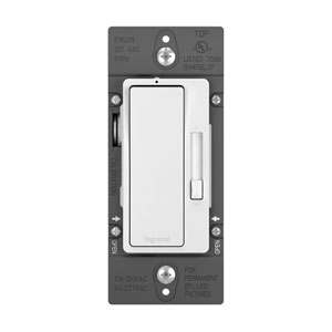 White Radiant 0-10V LED Fluorescent Dimmer