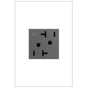 Magnesium Tamper Resistant Dual Outlet 20A-125V