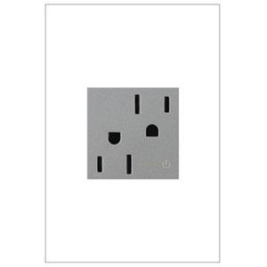 Magnesium Tamper Resistant Half Outlet 15A-125V