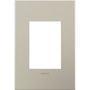 Satin Nickel Cast Metal 3-Module Wall Plate