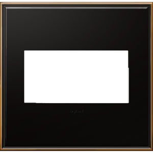 Oil Rubbed Bronze Cast Metal 2-Gang Wall Plate