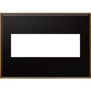 Oil Rubbed Bronze Cast Metal 3-Gang Wall Plate
