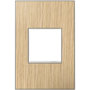 French Oak Real Materials 1-Gang Wall Plate