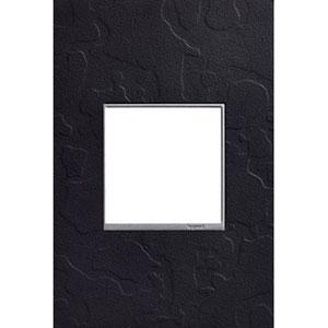 Hubbardton Forge Black 1-Gang Wall Plate