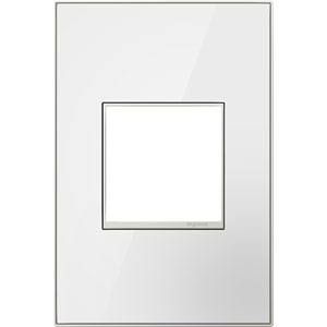 White Mirror 1-Gang Wall Plate