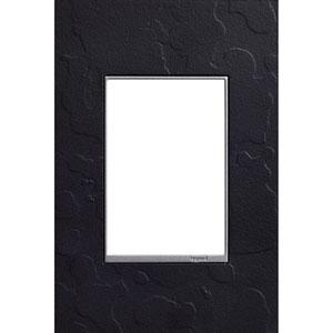 Hubbardton Forge Black 3-Module Wall Plate