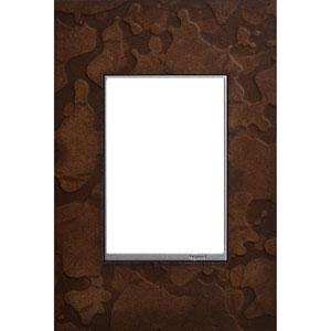 Hubbardton Forge Bronze 3-Module Wall Plate