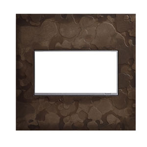 Hubbardton Forge Dark Smoke 2-Gang Wall Plate